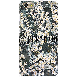 Jugaaduu Floral Pattern Back Cover Case For Huawei Honor 4C - J851408