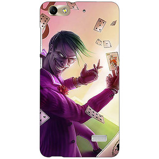 Jugaaduu Joker Back Cover Case For Huawei Honor 4C - J851441