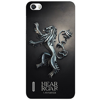 Jugaaduu Game Of Thrones GOT House Lannister  Back Cover Case For Huawei Honor 6 - J860165