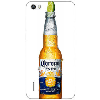Jugaaduu Corona Beer Back Cover Case For Huawei Honor 6 - J861247