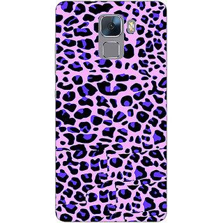 Jugaaduu Cheetah Leopard Print Back Cover Case For Huawei Honor 7 - J870079