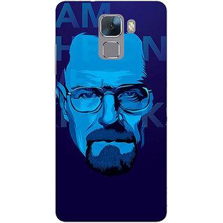 Jugaaduu Breaking Bad Heisenberg Back Cover Case For Huawei Honor 7 - J870431