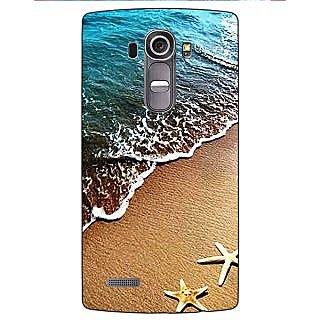 Jugaaduu Summer Beach Back Cover Case For LG G4 - J1101139