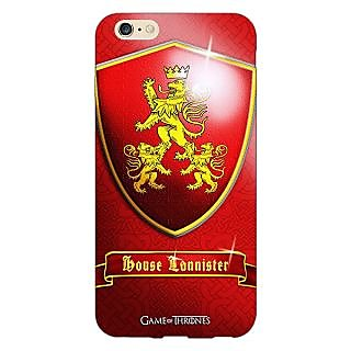 Jugaaduu Game Of Thrones GOT House Lannister  Back Cover Case For Apple iPhone 6S Plus - J1090164