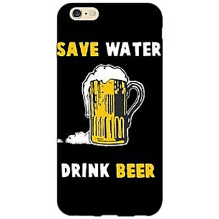 Jugaaduu Beer Quote Back Cover Case For Apple iPhone 6S Plus - J1091262