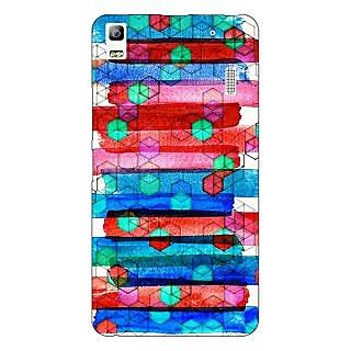 Jugaaduu Colourful Winter Pattern Back Cover Case For Lenovo K3 Note - J1120279