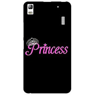Jugaaduu Princess Back Cover Case For Lenovo K3 Note - J1121398