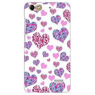 Jugaaduu Hearts Back Cover Case For Huawei Honor 4C - J850702