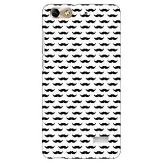 Jugaaduu Moustache Back Cover Case For Huawei Honor 4C - J851448