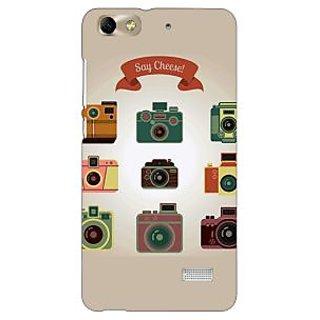 Jugaaduu Selfie Back Cover Case For Huawei Honor 4C - J851455