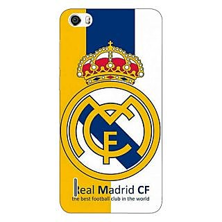 Jugaaduu Real Madrid Back Cover Case For Huawei Honor 6 - J860591