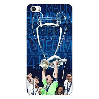 Jugaaduu Real Madrid La Decima Back Cover Case For Huawei Honor 6 - J860597