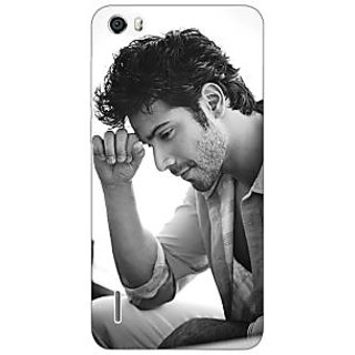 Jugaaduu Bollywood Superstar Varun Dhawan Back Cover Case For Huawei Honor 6 - J860962