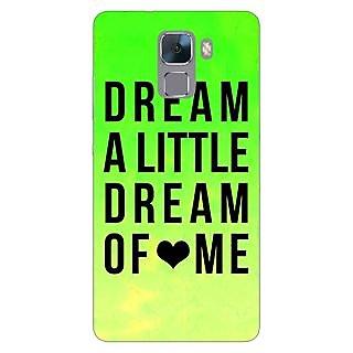 Jugaaduu Dream Love Back Cover Case For Huawei Honor 7 - J870092