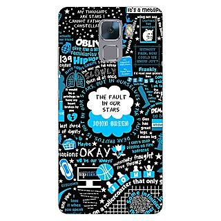 Jugaaduu TFIOS Fancy  Back Cover Case For Huawei Honor 7 - J870109