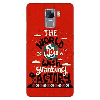 Jugaaduu TFIOS Wish Granting Factory  Back Cover Case For Huawei Honor 7 - J870113