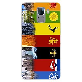 Jugaaduu Game Of Thrones GOT  Back Cover Case For Huawei Honor 7 - J870118