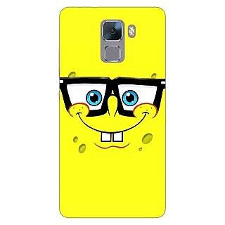 Jugaaduu Spongebob Back Cover Case For Huawei Honor 7 - J870459