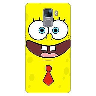 Jugaaduu Spongebob Back Cover Case For Huawei Honor 7 - J870461