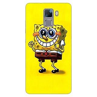Jugaaduu Spongebob Back Cover Case For Huawei Honor 7 - J870470