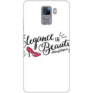 Jugaaduu Quotes Beautiful Back Cover Case For Huawei Honor 7 - J871188