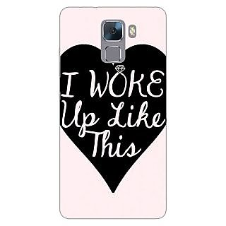 Jugaaduu Quotes Beautiful Back Cover Case For Huawei Honor 7 - J871189
