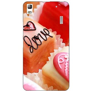 Jugaaduu Cupcakes Love  Back Cover Case For Lenovo K3 Note - J1120715