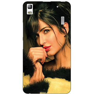 Jugaaduu Bollywood Superstar Katrina Kaif Back Cover Case For Lenovo K3 Note - J1121056