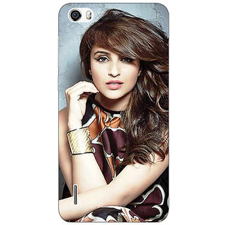 Jugaaduu Bollywood Superstar Parineeti Chopra Back Cover Case For Huawei Honor 6 - J860999