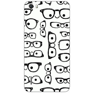 Jugaaduu Glasses Pattern Back Cover Case For Huawei Honor 6 - J861379