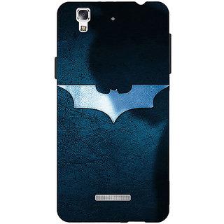 Jugaaduu Superheroes Batman Dark knight Back Cover Case For Micromax Yu Yureka - J880003