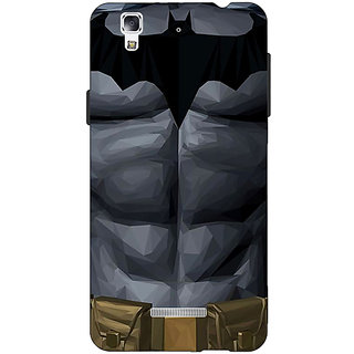 Jugaaduu Superheroes Batman Dark knight Back Cover Case For Micromax Yu Yureka - J880004