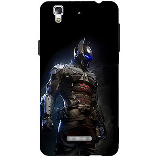 Jugaaduu Superheroes Batman Dark knight Back Cover Case For Micromax Yu Yureka - J880009