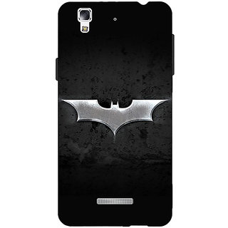 Jugaaduu Superheroes Batman Dark knight Back Cover Case For Micromax Yu Yureka - J880010