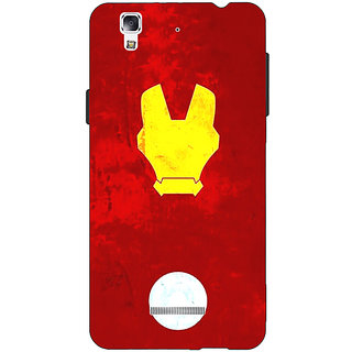 Jugaaduu Superheroes Ironman Back Cover Case For Micromax Yu Yureka - J880021