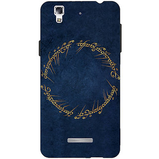 Jugaaduu LOTR Hobbit  Back Cover Case For Micromax Yu Yureka - J880371