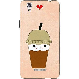 Jugaaduu Milkshake Love Back Cover Case For Micromax Yu Yureka - J881134