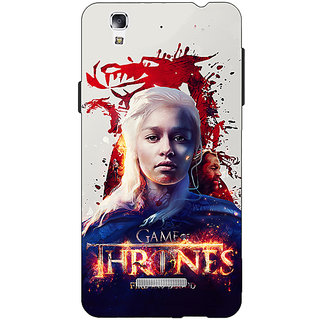 Jugaaduu Game Of Thrones GOT Khaleesi Daenerys Targaryen Back Cover Case For Micromax Yu Yureka - J881539