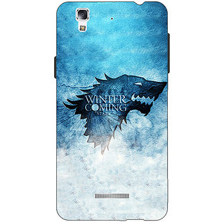 Jugaaduu Game Of Thrones GOT House Stark Back Cover Case For Micromax Yu Yureka - J881549