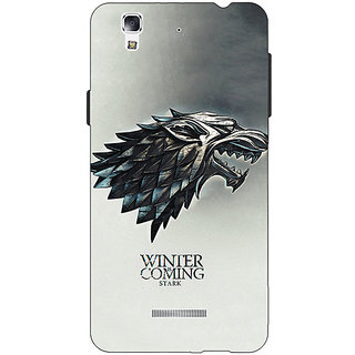 Jugaaduu Game Of Thrones GOT House Stark Back Cover Case For Micromax Yu Yureka - J881554