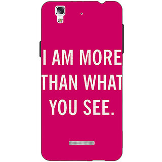 Jugaaduu Quote Back Cover Case For Micromax Yu Yureka - J881225