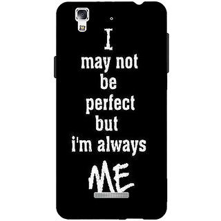 Jugaaduu Quote Back Cover Case For Micromax Yu Yureka - J881289