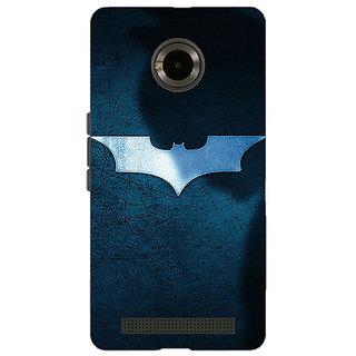 Jugaaduu Superheroes Batman Dark knight Back Cover Case For Micromax Yu Yuphoria - J890003