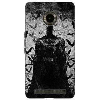 Jugaaduu Superheroes Batman Dark knight Back Cover Case For Micromax Yu Yuphoria - J890008