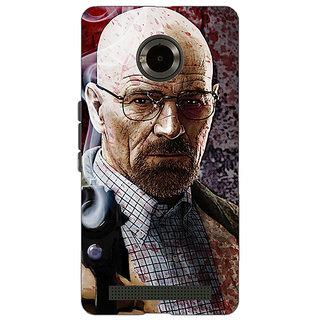 Jugaaduu Breaking Bad Heisenberg Back Cover Case For Micromax Yu Yuphoria - J890418