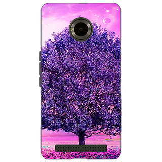 Jugaaduu Whishing Tree Back Cover Case For Micromax Yu Yuphoria - J890718