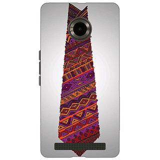 Jugaaduu Tribal Tie Back Cover Case For Micromax Yu Yuphoria - J890778