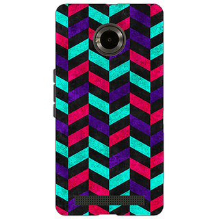 Jugaaduu Tribal Back Cover Case For Micromax Yu Yuphoria - J890783