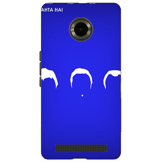 Jugaaduu Bollywood Superstar Dil Chahta Hai Back Cover Case For Micromax Yu Yuphoria - J891109