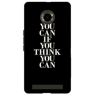 Jugaaduu Quote Back Cover Case For Micromax Yu Yuphoria - J891480